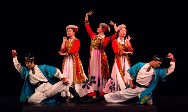 types of chinese dance
