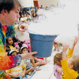 Piccirillo Sciencetellers | Young Audiences New Jersey