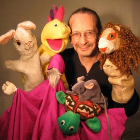 Steve Abrams Puppet Theatre | Young Audiences New Jersey