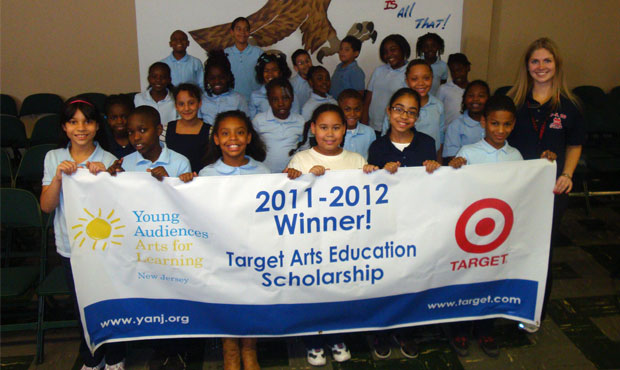 Target Arts Education Scholarship Winner for 2011-2012