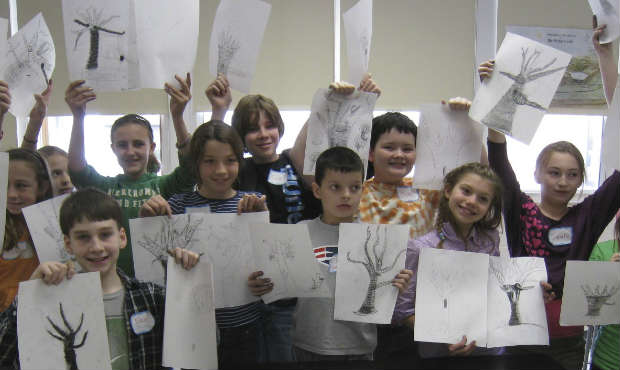 Branch Out: Drawing in 3-D with Janice Merendino | Young Audiences New Jersey