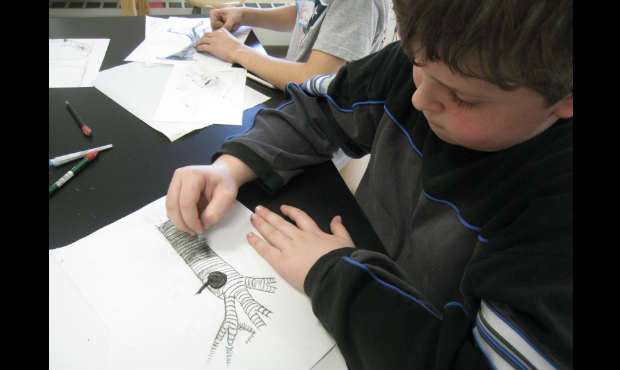 Branch Out: Drawing in 3-D with Janice Merendino