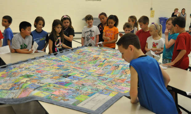 Making a Story Quilt by Gabrielle Kanter | Young Audiences New Jersey