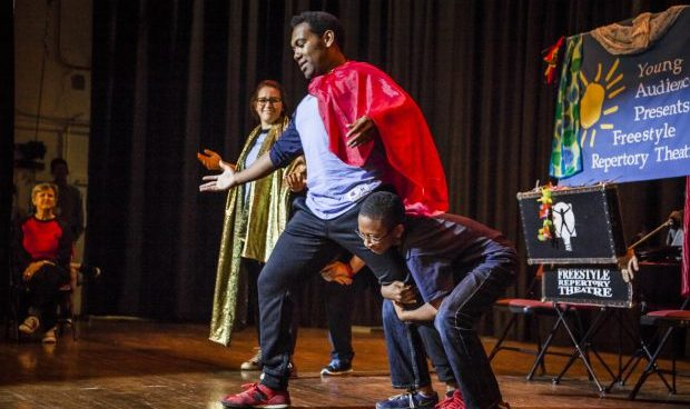 Theatresports : Improv Your Mind by Freestyle Repertory Theatre