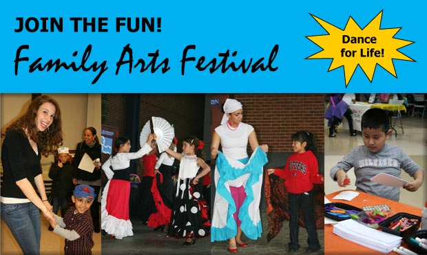 Family Arts Festival 2013 - Dance for Life