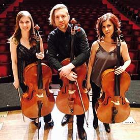 Image of Cello Fury Cast