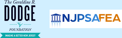 G.R. Dodge Foundation and NJPSAFEA Logos