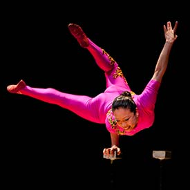 Chinese Acrobat Li Liu