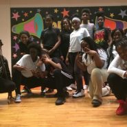Middle school students after their community performance at 13th Avenue School in Newark, NJ