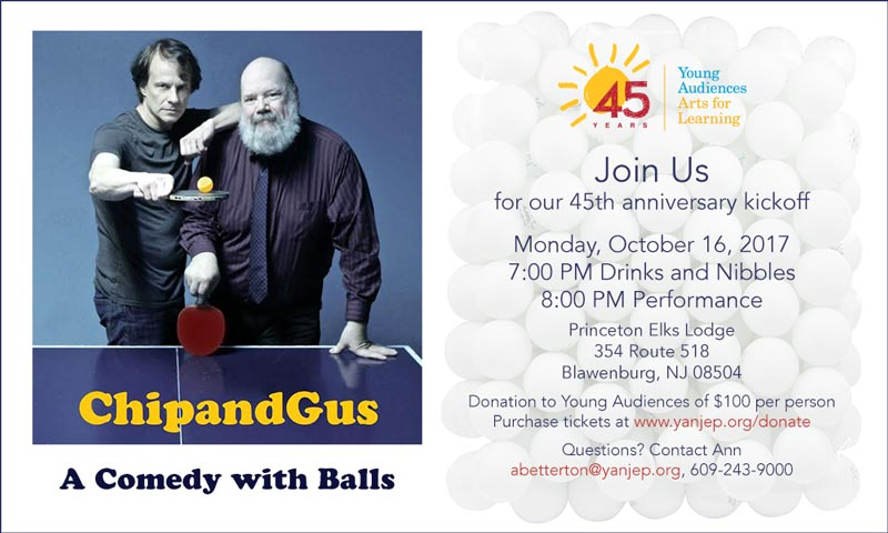 Chip & Gus - Join Us to Celebrate!