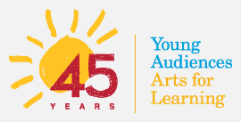 Young Audiences - 45 Years Logo