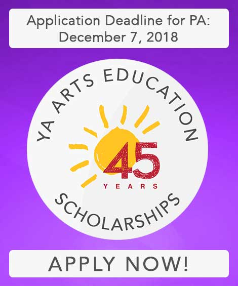 Ad vertisement for Young Audiences Arts Education Grants for Pennsylvania Schools - Apply Now