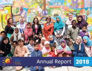 Young Audiences Fiscal Year 2018 Annual Report Cover