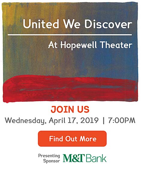 United We Discover - Wednesday April 17, 2019