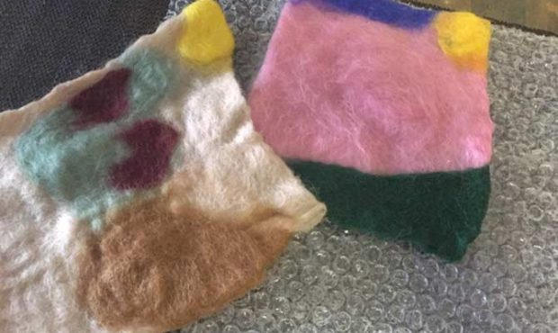 Felt Making WOrkshop by Gabrielle Kanter