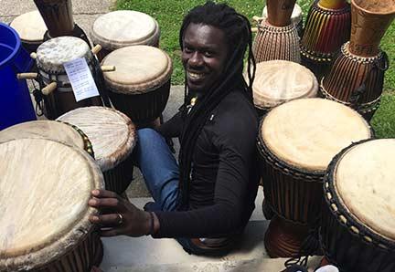 Sangue Mbacké Mboup - Young Audiences' United We Create Pilot Program