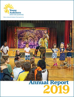 Young Audiences 2019 Annual Report Cover Image