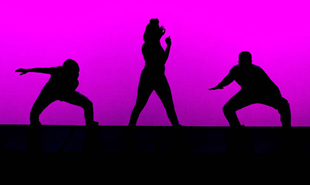 SOLE Defined - 3 dancers in silhouette