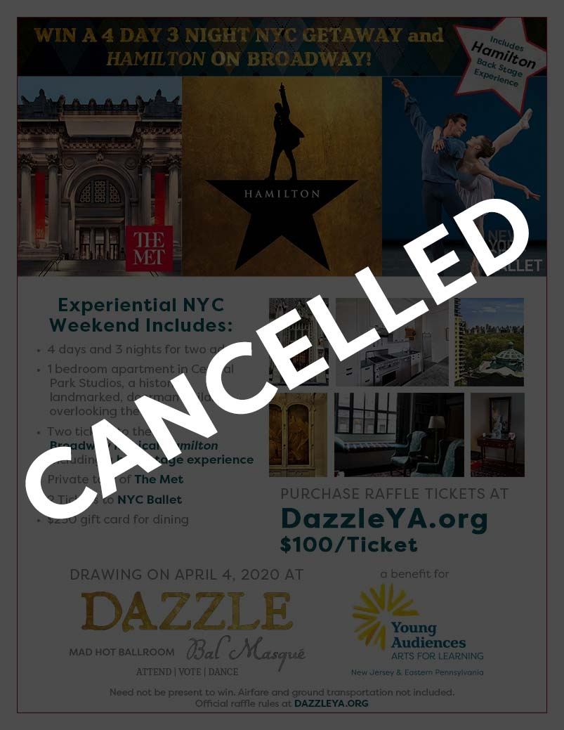 Dazzle 2020 - Raffle Cancelled