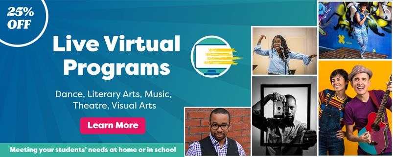 Virtual Programs by Young Audiences