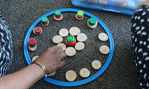 Finding your Center: Found Object Mandalas