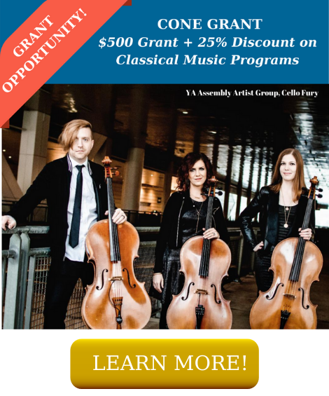 $500 off Classical Music Programs + 25% Discount until June 30th