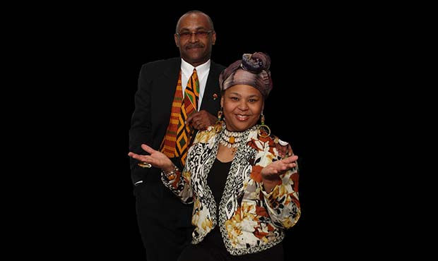 Image of Queen Nur and Dwight James